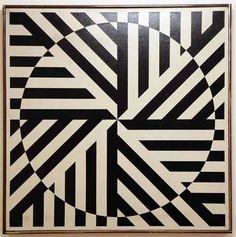 """Rakuko Naito, Untitled, 1964, Oil on canvas, 32"""" x 32"""""""