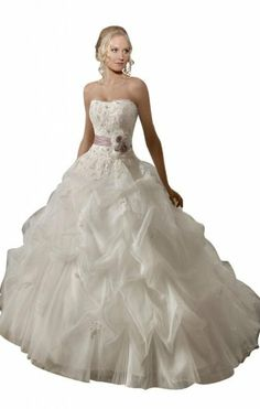 wedding dress wedding dresses Ahhh it has a purple ribbon.....