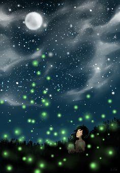 whispering-spirit:  Fireflies