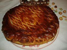 Galette des rois à ma façon  (fromage blanc, eau de fleur d'oranger et noix de coco ... ou pralin)