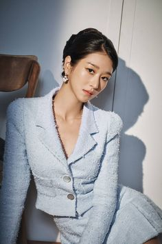 Korean Actresses, Asian Actors, Kpop Fashion Outfits, Mode Outfits, Korean Celebrities, Celebs, Mode Emo, Chica Fantasy, Instyle Magazine