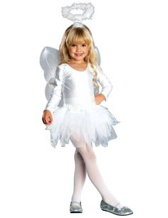 Girls and Toddler Angel Costume Christmas Costumes Nativity Costumes, Angel Halloween Costumes, Tutu Costumes, Christmas Costumes, Christmas Skits, Christmas Program, Pirate Costumes, Christmas Nativity, Halloween Christmas