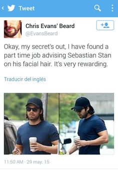 HES STARTING TO LOOK LIKE BUCKY AND CAN WE APPRECIATE HOW BUFF HE IS LAWD CIVIL WAR IS ACOMING PEOPLE.