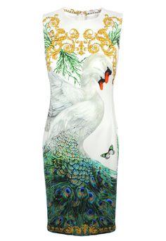 Versace Collection Swan Dress| Garment Quarter