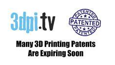 Roundup of Many Expiring Printing Patents, mentioning John Hornick's survey of printing patents 3d Printing, Rock, Impression 3d, Skirt, Locks, The Rock, Rock Music, Batu, Rock Roll