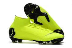 Check out the Coolest Nike Womens Mercurial Superfly VI Elite FG Football Boots - Volt/Black sale. Order discount football boots and more today! Cool Football Boots, Soccer Boots, Football Shoes, Nike Football, Best Soccer Cleats, Nike Cleats, Nike Soccer, Cool Nikes, Fast Sports Cars
