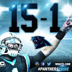 2015 season anniversary of inception into the NFL Way to go Panthers! Panthers Team, Carolina Panthers Football, Nfl Football, Indianapolis Colts, Cincinnati Reds, Pittsburgh Steelers, Dallas Cowboys, Carolina Pride, Carolina Blue