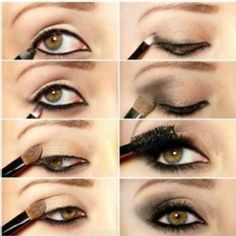 Smokey Eyes For Hazel Eyes