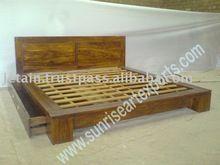 Teen couple bed