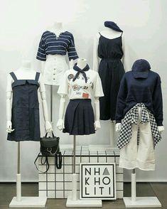 Korean Girl Fashion, Korean Fashion Trends, Ulzzang Fashion, Cute Fashion, Asian Fashion, Fashion Couple, Kpop Fashion Outfits, Korean Outfits, Moda Kpop