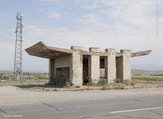 Soviet bus stop, Saratak Armenia                                                                                                                                                     More