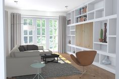 Interieurontwerp  en Styling Jaren 30 woning Teteringen (Breda)