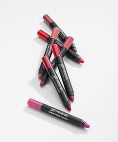 """glo minerals Suede Matte Crayon was selected by NewBeauty Magazine as """"The Best Way to Get a Matte Lip That Lasts."""" Follow our tips for making your matte lip last all day."""