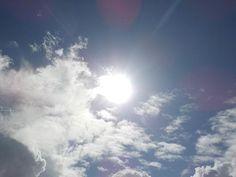 太陽元気 #sun #sunshine #bluesky #cloud #shonan #gm #goodmorning  #太陽 #光曼荼羅 #青空 #雲 #湘南
