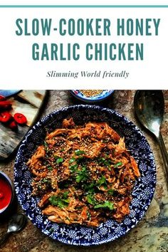 Slow-cooker honey garlic chicken – The Slimming FoodieYou can find Slimming world recipes slow cooker and more on our website.Slow-cooker honey garlic chicken – The Slimming Foodie Slow Cooker Slimming World, Slimming World Chicken Recipes, Slimming World Recipes Syn Free, Slimming World Stew, Slimming World Dinners, Slimming World Plan, Asian Pressure Cooker Recipes, Slow Cooker Recipes, Cooking Recipes