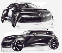 Car Design Sketch, Car Sketch, Crossover Suv, Cool Sketches, Transportation Design, Automotive Design, Concept Cars, Exterior Design, Cool Cars