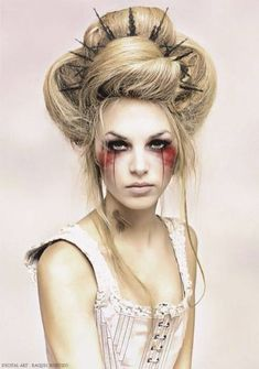 Are you looking for inspiration for your Halloween make-up? Browse around this site for scary Halloween makeup looks. Halloween Makeup Looks, Cool Halloween Costumes, Halloween Halloween, Peacock Halloween, Unicorn Halloween, Halloween Parties, Halloween Fashion, Women Halloween, Halloween Design