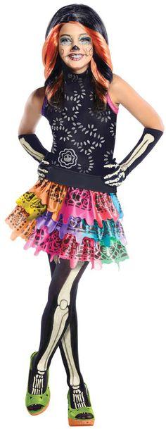 Disfraz de Skelita Calaveras Monster High™ niña Disponible en http://www.vegaoo.es/p-219815-disfraz-de-skelita-calaveras-monster-high-nina.html?type=product