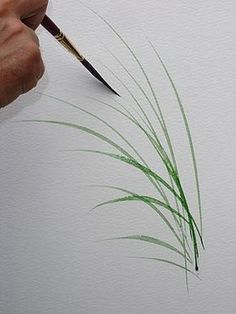 terryharrison… uploaded 1 image Tutorials Brush_Sword_Stems… - All For Garden Acrylic Painting Techniques, Painting Videos, Painting Lessons, Watercolor Techniques, Painting Tips, Art Techniques, Painting Classes, Painting & Drawing, Tole Painting