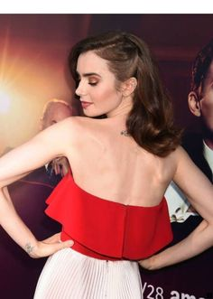 Lily Collins Pictures and Photos Le Rosey, Look Younger, Girl Crushes, Medium Hair Styles, Hair Inspiration, Divas, Wedding Hairstyles, Makeup Looks, Celebrity Style