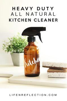 Heavy Duty DIY Natural Kitchen Cleaner