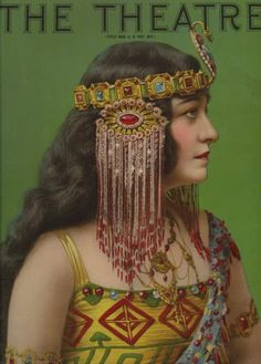 1920's ~ Actress Pauline Frederick ~ The Theatre Magazine cover ~ Stunning!