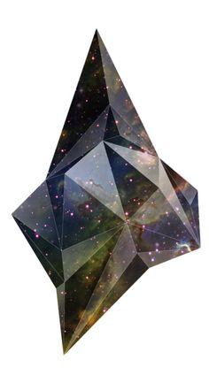 galaxy crystalline shape