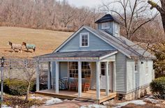 Peek Inside this Renovated Tennessee Cottage That's Full of Southern Charm