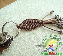 DIY Chinese Knot Key Chain