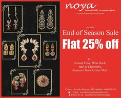 End of Season sale at Noya - Amanora Town Centre