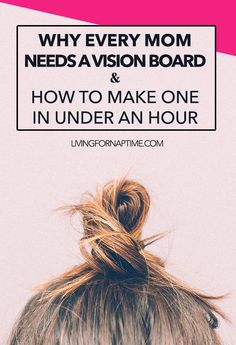 Vision Boards are a great way to visualize your goals for the upcoming year. Learn how to make one easily with these creative ideas! Source by life Crazy Life, Life Is Good, Planners, Every Mom Needs, Creating A Vision Board, Working Moms, Self Improvement, Parenting Hacks, Self Help