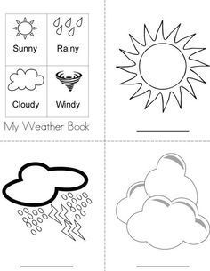W is for Weather from TwistyNoodle.com | Weather Activities and ...