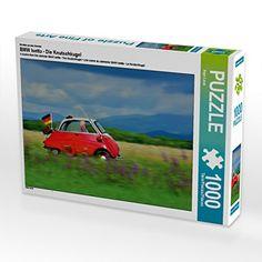 Ein Motiv aus dem Kalender BMW Isetta - Die Knutschkugel 1000 Teile Puzzle quer…