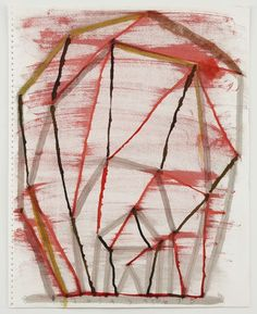ATA, 1989 Pencil, black ink, and colored ink on paper torn from spiral ring sketchbook 17 x 13 1/2 inches (43.2 x 34.3 cm) © 2016 The Estate of Al Taylor