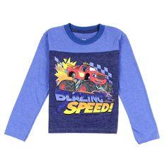5T Blue//Multi Nickelodeon Toddler Boys Blaze Built for Speed Jogger Set