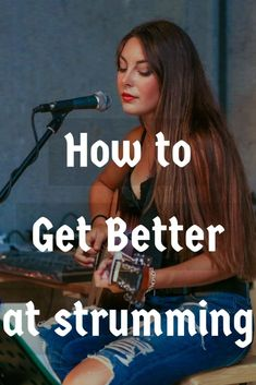 How to Get Better at Strumming Guitar - Chris Droog Learn Guitar Chords, Guitar Chords Beginner, Acoustic Guitar Lessons, Learn To Play Guitar, Guitar Tips, Beginner Guitar Lessons, Guitar Classes, Acoustic Guitars, Guitar Songs For Beginners