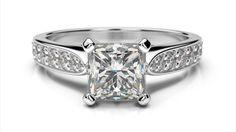 Luxusný zásnubný prsteň z ružového zlata Bracelet Watch, Engagement Rings, Watches, Bracelets, Accessories, Jewelry, Bangles, Jewellery Making, Wristwatches