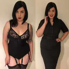 Id just like to give a shoutout to @collectifclothing for this amazing dress I wore to work today. I knew it was going to be a sht day and wanted to feel BANGING. Of course this beautiful bra by @berdita_lingerie big comfy knickers my own suspended belt and Queen sized stockings helped too. #thenylonswish #ifeelbanginginthis