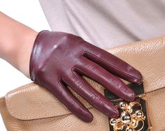 Half Gloves Scoop Gloves Leather Gloves