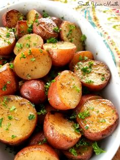 Slow Cooker Ranch Roasted Potatoes