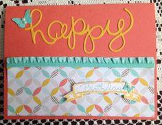 Happy birthday Jar by CAR372 - Cards and Paper Crafts at Splitcoaststampers