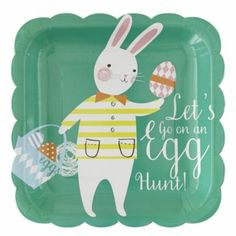Easter Party Plates (Set of 20)  | The Land of Nod