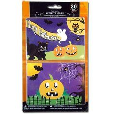 20pk Halloween Activity Books Party Favors by UPD. $5.50 Activity Books, Book Activities, Party Games, Party Favors, Halloween Activities, Party Supplies, Toys, Crafts, Activity Toys