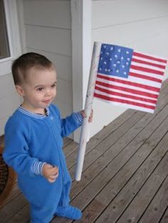 Easy Peasy 4th Of July Crafts | No Time For Flash Cards - Play and Learning Activities For Babies, Toddlers and Kids