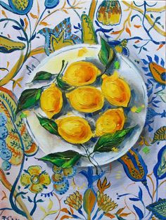 Lemons oil painting, Still life painting oil, Oil painting, traditional art, small painting Food Painting, Eye Painting, Large Painting, Lemon Painting, Small Paintings, Contemporary Paintings, Original Paintings, Oil Paintings, Still Life Oil Painting