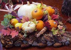 Fall Leaves Wedding Theme | Inspiring Wedding Centerpiece Ideas in Beautiful Fall Theme ...