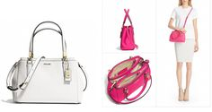 MADISON MINI CHRISTIE CARRYALL IN SAFFIANO LEATHER BYCOACH