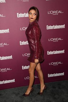 Sarah Hyland attends the Entertainment Weekly's 2017 PreEmmy Party at the Sunset Tower Hotel on September 15 2017 in West Hollywood California