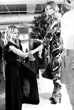 Rachel Zoe styling