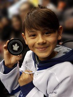The littlest fans of the Toronto Maple Leafs. #TMLtalk